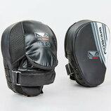 Лапа изогнутая боксерская Bad Boy Pro Series Advanced 8278 2 лапы в комплекте, размер 25x20x10см