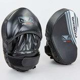Лапа изогнутая боксерская Bad Boy Pro Series Advanced 8277 2 лапы в комплекте, размер 25x20x10см