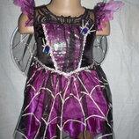 карнавальное платье на 3-4 года светящееся