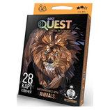 Карточная квестигра Best Quest Животные