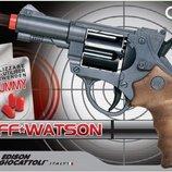 Оригинальные игрушки у нас Пистолет EDISON Jeff Watson 19см 6-зарядный с пульками