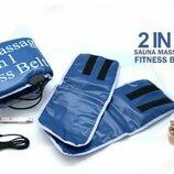 Пояс сауна Массажер Sauna Massage 2 in 1 Fitness Belt