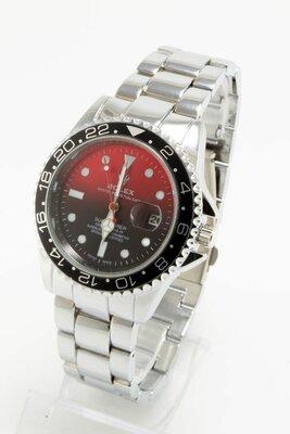 Часы мужские Rolex Submariner silver/red реплика