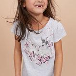 Нова колекція футболок фірми H&M оригінал 4-6, 6-8, 8-10