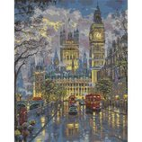 Картина по номерам. Городской пейзаж Дворец Вестминстер 40х50см. KHO1151