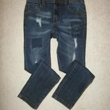 Крутые джинсы Denim Co на 6-7 лет, в идеальном состоянии