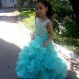 Шикарное нарядное платье на выпускной