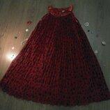 Нарядное шифоновое платье kids UP на 8-9лет