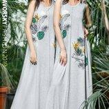 Красивое длинное летнее платье Босния