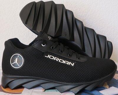 Jordan JE крейзи черная сетка летние черные мужские спортивные кроссовки сетка кожа реплика