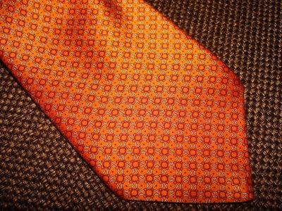 галстук Brioni оригинал шелк Италия винтаж оранж идеал Louis Vuitton Burberry