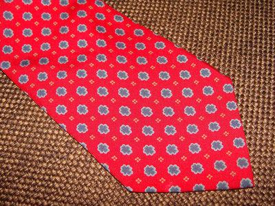 галстук ETRO Milano оригинал шелк Италия винтаж идеал принт Мультиколор Louis Vuitton Burberry