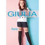 Колготки детские 60 ден с имитацией ботфортов Paris 01 Тм Giulia