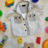 Рубашечка Next для мальчика 6-9міс
