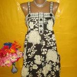 Очень красивое женское платье грудь 40 см Atmosphere Атмосфера 100% катон
