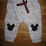 спортивные штаны Disney на 3-6 мес