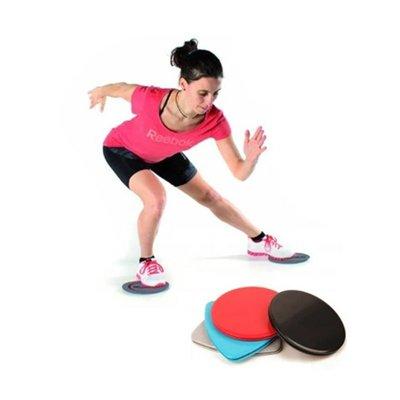 Скользящие диски фитнеса 17,5 см, 2 шт