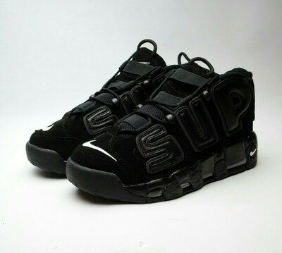 Nike Air More Uptempo x Supreme Full Black