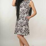 Оригинальное повседневное платье свободного стиля Отти цвета