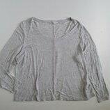 Фирменный реглан лонгслив блуза XL