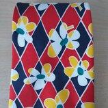 Kenzo italy шелковый галстук оригинал