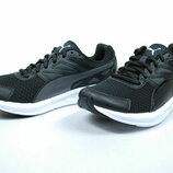 Кроссовки Puma Driver Wns Black White Womens Running Shoes
