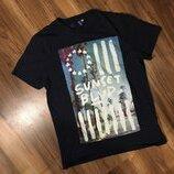 H&M M футболка мужская новая