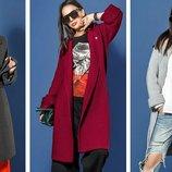 Вязаное пальто Нести,3 цвета