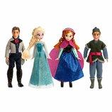 Disney Набор мини куклы Эльза, Анна, Кристоф, Ганс Frozen 4 Mini Doll Set Anna, Elsa, Kristoff, Hans