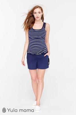 c6b5cc3afbbf8af Шорты для беременных, темно-синие: 570 грн - брюки, джинсы ...