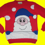 Новогодний свитер,размер S-M.BRAVENEW WORLD