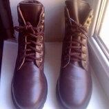 Зимние кожаные ботинки Мальви , р.-37