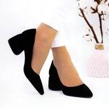 Женские туфли Фрея, натур.замша