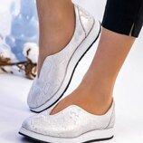 Женские туфли Рептилия, натур. кожа