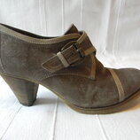 Замшевые закрытые туфли Roberto Santi р.37