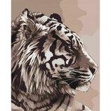 Картина По Номерам. Животные, Птицы АМУРСЬКИЙ Тигр 40 50СМ KHO2496