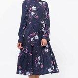 Романтичное женственное платье свободного стиля Рут цвета