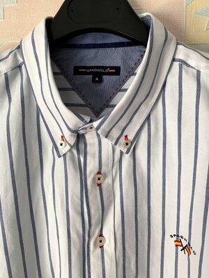 Шикарная новая рубашка в полоску Spagnolo XL Испания