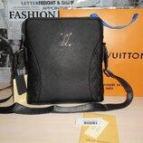 Сумка мужская планшетка Louis Vuitton кожа, Франция 142-2