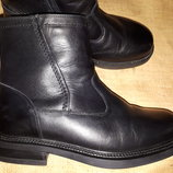 40р-26 см кожа зима ботинки Go Soft ширина подошвы 11.5 высота от пола 20 см ширина вверху 30 см в