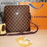 Сумка мужская планшетка Louis Vuitton кожа, Франция 147-2