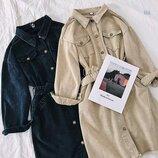 Платье джинс 42 - 46 две расцветки