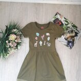 Модное платье 5-6 лет Lupilu