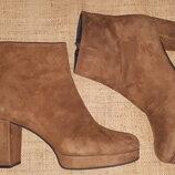 38р- 25 см замша стильные сапоги Andrea Puccini Made in Italy состояние идеальное, признаки носки то