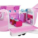 Barbie Гламурный самолет Барби DMR53 Pink Passport Glamour Vacation Jet