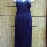 Платье велюр BHS размер 10 идет на 44-46-48