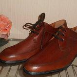 Туфли мужские, дерби Polo натуральная кожа