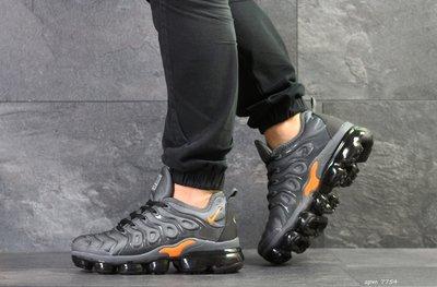 Nike Air Vapormax Plus кроссовки мужские демисезонные серые 7754