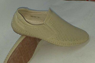 Летние туфли- макасин 767-701