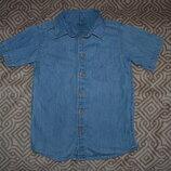 джинсовая рубашка Primark на 4 года рост 104 Англия